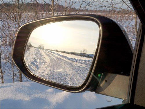Toyota RAV4 2016 боковое зеркало