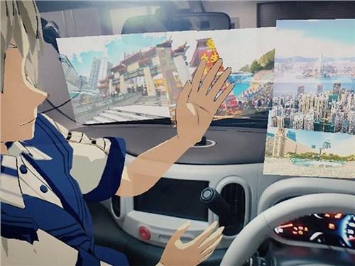 Nissan играет в гляделки