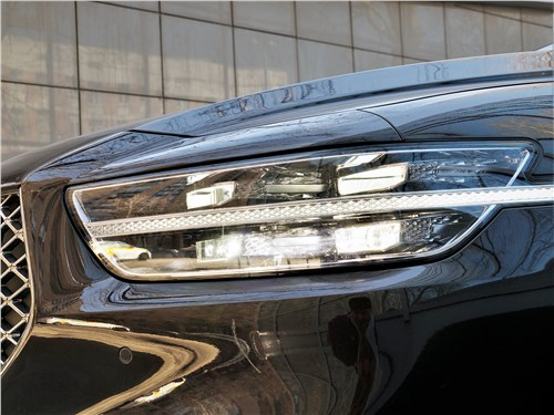 Hyundai Genesis G90 2019 передняя фара