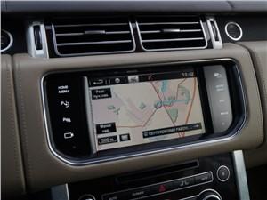 Range Rover LWB 2014 монитор компьютера