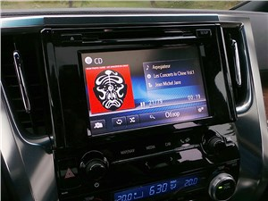 Предпросмотр toyota alphard 2015 аудиосистема