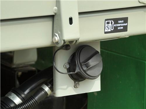 Предпросмотр уаз «профи» 4x4 2018 крышка заливной горловины бензобака