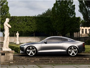 Предпросмотр volvo coupe концепт 2013 вид сбоку фото 4