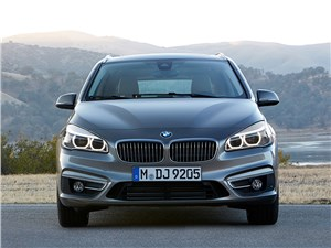 Предпросмотр bmw 2 series active tourer 2014 вид спереди фото 3