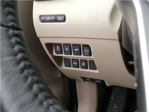 Nissan X-Trail 2018 кнопки
