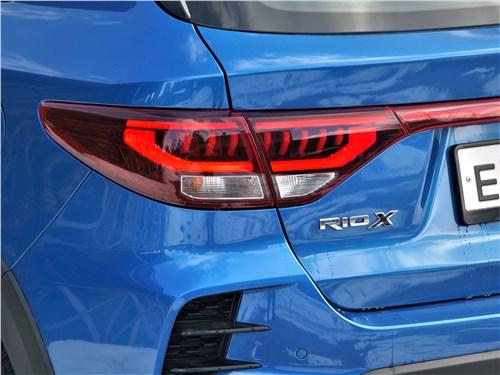 Kia Rio X (2020) задний фонарь