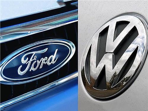 Ford и Volkswagen будут делать машины вместе. Какие и когда?
