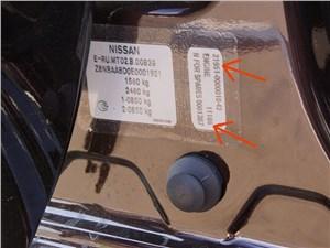 Datsun on-DO 2014 маркировка кузова и двигателя