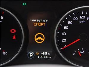 Kia Sportage 2014 приборная панель