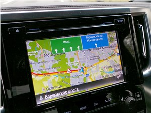 Предпросмотр toyota alphard 2015 система навигации