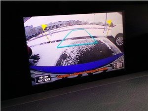 Lexus RC F Sport 2014 монитор