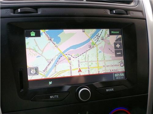Datsun mi-Do 2015 экран мультимедиасистемы