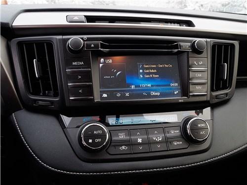 Toyota RAV4 2016 монитор