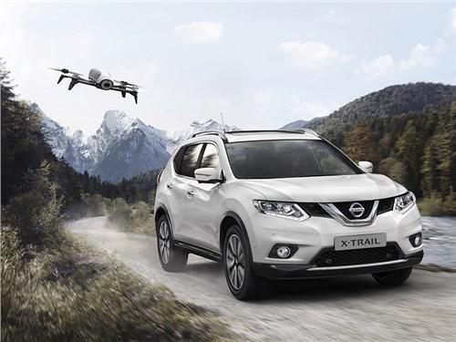 Nissan X-Trail получил спецверсию с собственным дроном