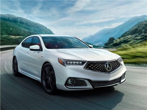 Новость про Acura TLX - Acura TLX 2018