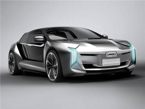 Новый концепт Qoros получил силовую установку от Koenigsegg Regera