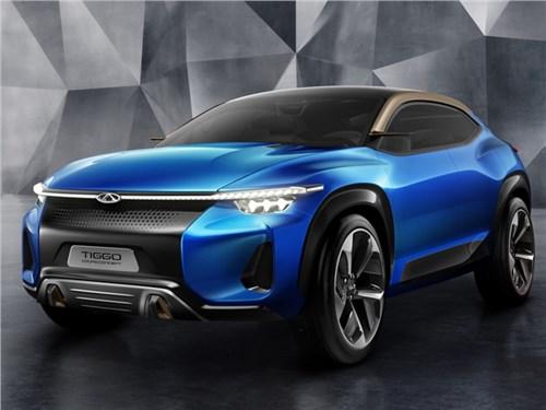 Новость про Chery - Chery Tiggo Coupe concept 2017
