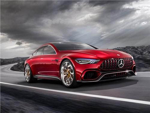 Новость про Mercedes-Benz AMG GT - Mercedes-AMG GT Concept 2017