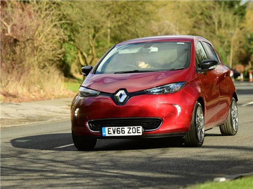 Электромобили Renault смогут подзаряжаться на ходу
