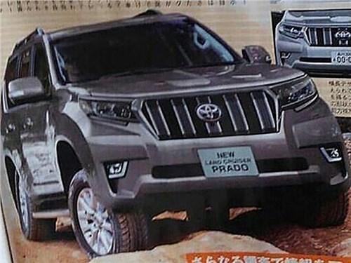 Новость про Toyota Land Cruiser Prado - Toyota Land Cruiser Prado 2018