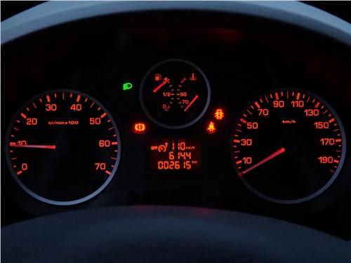Peugeot Partner Tepee 2016 приборная панель