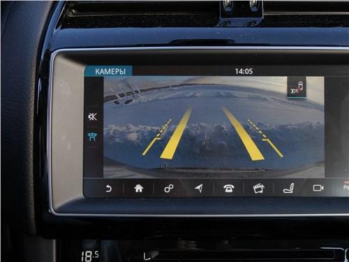 Jaguar F-Pace 2018 монитор