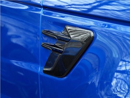 Land Rover Range Rover Sport SVR 2018 накладки на крыльях