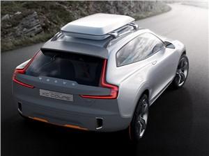 Предпросмотр volvo xc coupe concept 2014 вид сзади фото 3