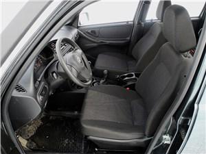 Предпросмотр chevrolet niva 2009 передние кресла