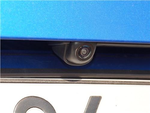 Kia Soul 2020 камера заднего вида