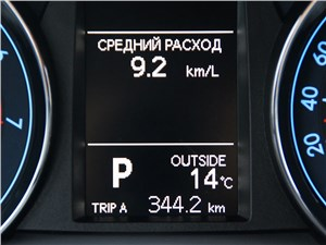 Toyota Corolla 2013 расход топлива