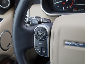 Range Rover LWB 2014 управление «музыкой»
