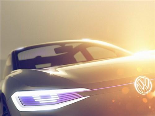 Volkswagen привезет в Шанхай электрический кроссовер