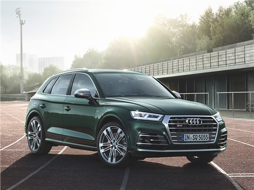 Новость про Audi SQ5 - Audi SQ5 2017