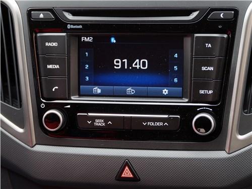 Hyundai Creta 2016 центральная консоль