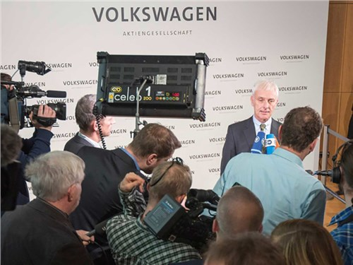 Новость про Volkswagen - Volkswagen засекретил доклад о «Дизельгейте»