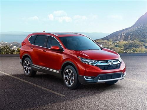 Новая Honda CR-V появится в России в июле
