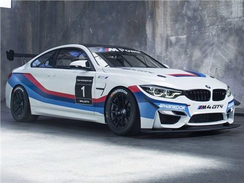 Новость про BMW M4 - BMW M4 GT4 2017