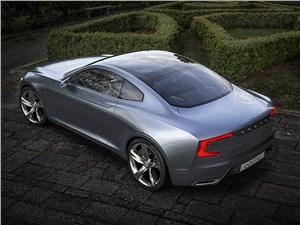 Предпросмотр volvo coupe концепт 2013 вид сверху фото 3