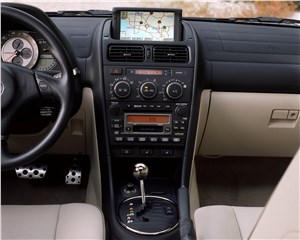 Предпросмотр lexus is300 2001 в комплектации с навигационной системой
