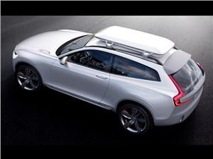 Предпросмотр volvo xc coupe concept 2014 вид сверху