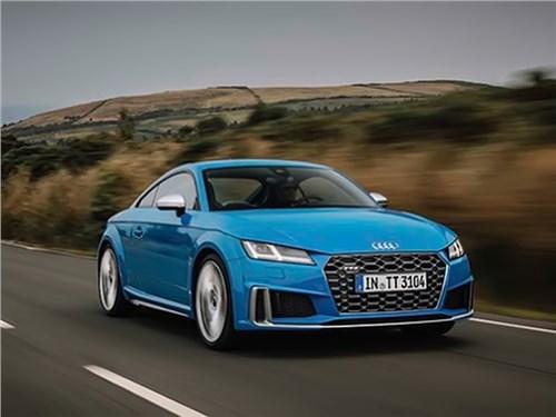 Рассекречено обновленное купе Audi TTS