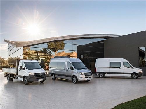 Новость про Mercedes-Benz - Mercedes-Benz Sprinter