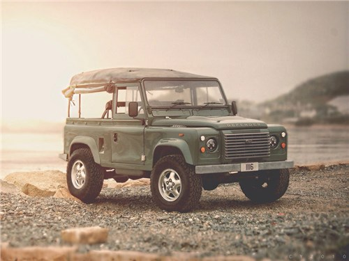 Land Rover поделился подробностями о новом Defender