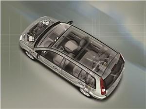 Предпросмотр ford fusion 2002 рентген кузова сверху