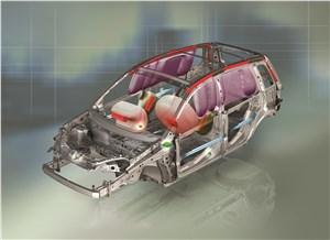 Предпросмотр ford fusion 2002 схема подушек безопасности