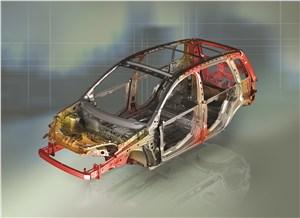 Предпросмотр ford fusion 2002 силовая структура кузова