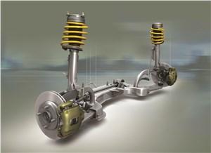 Предпросмотр ford fusion 2002 передняя подвеска