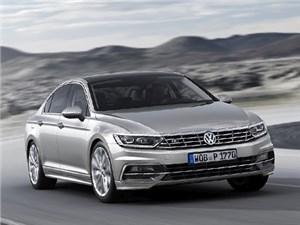 Volkswagen рассекретил европейскую версию восьмого поколения семейства Passat