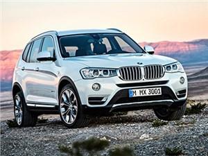 На российский рынок вышел обновленный кроссовер BMW X3
